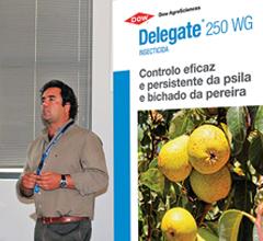 Nelson Matos do Desenvolvimento da Lusosem apresentou o Delegate  uma solução de Futuro